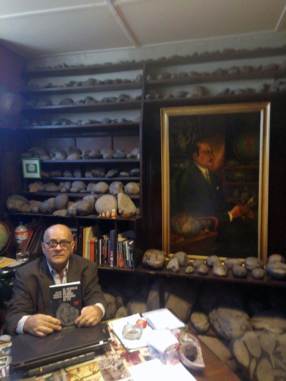 Ernesto Cabrera Claux actual director del Museo