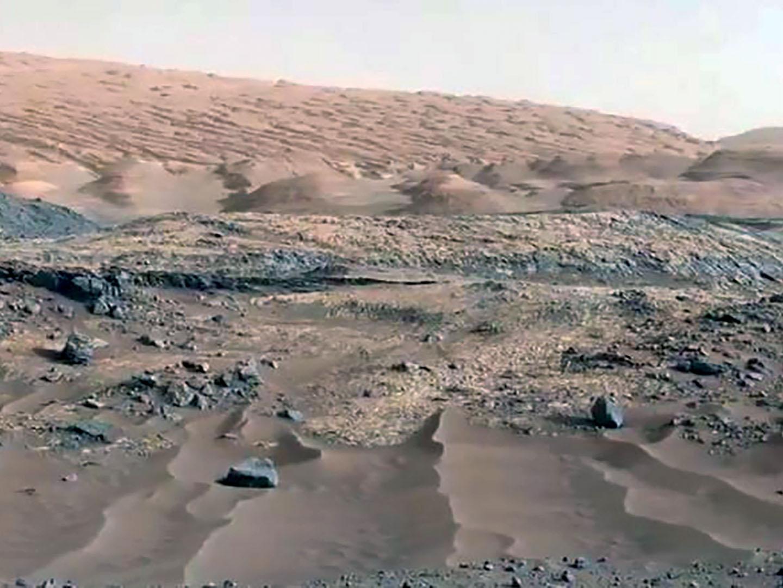 Foto de marte tomada por el Curiosity de la NASA